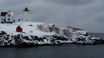 Cape Neddick, the Nubble, Lighthouse, Maine by Cindy Keller