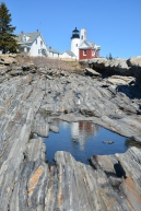 Pemaquid Point Lighthouse, Maine by Cindy Keller