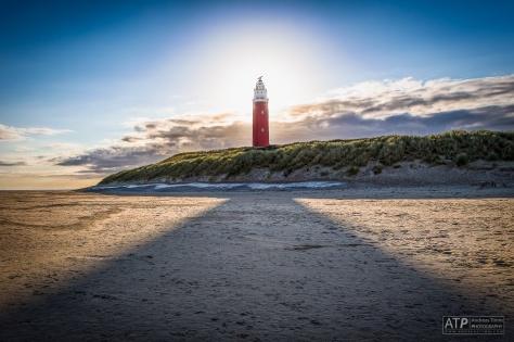Lighthouse Sunrise and Shadow