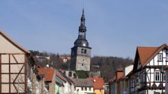 Bad Frankenhausen Church Tower, Germany