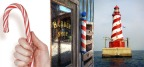 Candy Canes, Barber Poles, and Lighthouses. Oh my!