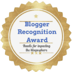My First Blogger Award!